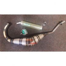 Cagiva Mito 125 1994 - 2006 Arrow Street Exhaust System - Carbon Kevlar